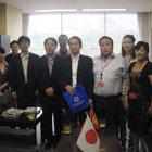 モンゴル国土交通都市開発相 表敬訪問