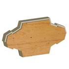 菱形に近いユニークな形状のネクサスブロック驚きの耐震木造構造を実現した新開発の「SWT工法」|建築・建材展2013
