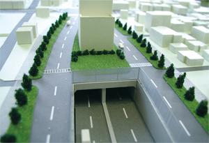 街区模型(高速道路)