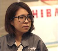 タイル張り職種 金賞/矢澤 翔子選手 (20歳)