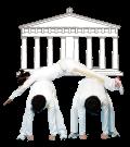 パルテノン神殿のポーズ