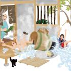 絵で見る江戸のくらし ⑩膝栗毛に見る日本の家