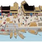 絵で見る江戸のくらし 15.江戸時代の都市の堀端
