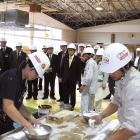 石井国土交通大臣が富士教育訓練センターを視察