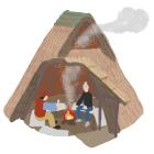 絵で見る江戸のくらし 20.竪穴式住居で日本建築について考える