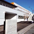 約200人が集い竣工式  富士教育訓練センター共用棟・宿泊棟建替工事が完成